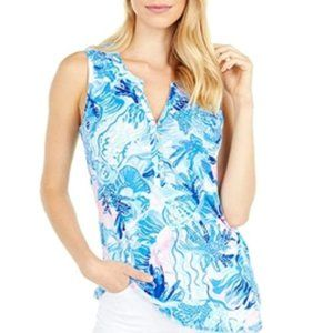 NWT Lilly Pulitzer Essie Tank Top Shade Seekers